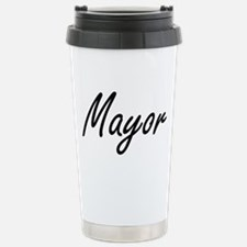 Mayor Artistic Job Desi Stainless Steel Travel Mug