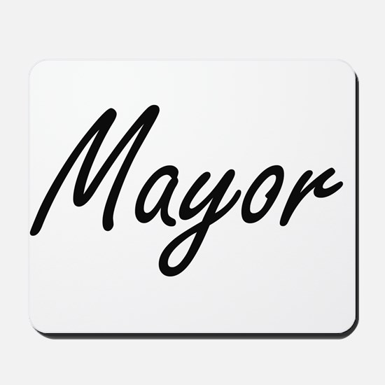 Mayor Artistic Job Design Mousepad