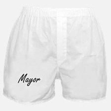 Mayor Artistic Job Design Boxer Shorts