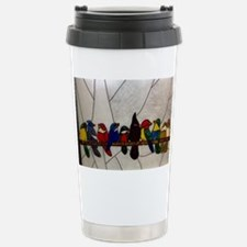 Exotic birds on a branc Travel Mug