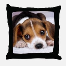 Cute Puppy Throw Pillow