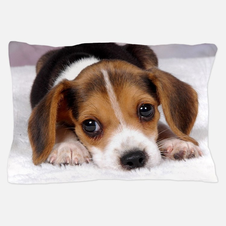 Cute Puppy Pillow Case