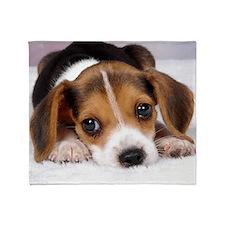 Cute Puppy Throw Blanket