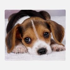 Cute Puppy Throw Blanket