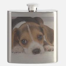 Cute Puppy Flask