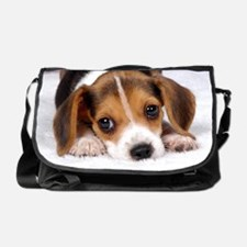 Cute Puppy Messenger Bag