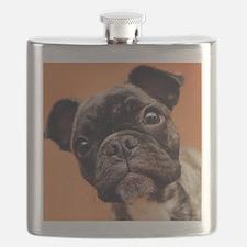 Bulldog Puppy Flask