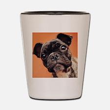 Bulldog Puppy Shot Glass