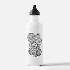 Zen circles 01 Water Bottle