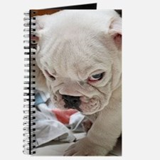 Funny English Bulldog Puppy Journal