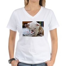 Funny English Bulldog Puppy T-Shirt