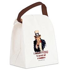 Cute Lbgt Canvas Lunch Bag