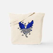 Valkyrie Vixens roller derby Tote Bag