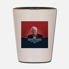 Bernie Sanders 2016 with Photo Shot Glass