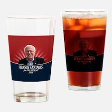 Bernie Sanders 2016 with Photo Drinking Glass
