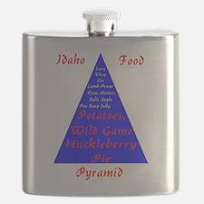Idaho Food Pyramid Flask
