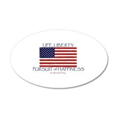Life, Liberty, Happiness Wall Decal