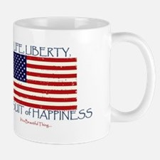 Life, Liberty, Happiness Mugs