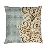 French country Woven Pillows