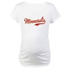 Minnesota Script Crimson and Gol Shirt