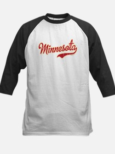 Minnesota Script Crimson and Kids Baseball Jersey