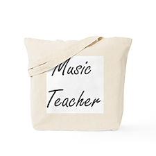 Music Teacher Artistic Job Design Tote Bag