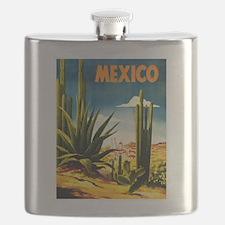 Vintage Mexico Travel ~ Village Flask