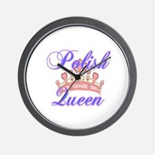 Polish Queen Wall Clock
