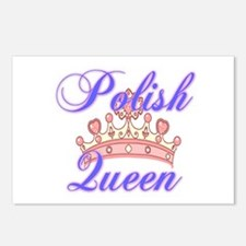 Polish Queen Postcards (Package of 8)