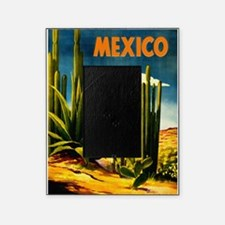 Vintage Mexico Travel ~ Village Picture Frame