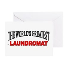 """""""The World's Greatest Laundromat"""" Greeting Card"""