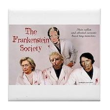 Frankenstein Society Tile Coaster