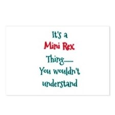 Mini Rex Thing Postcards (Package of 8)