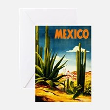 Vintage Mexico Travel ~ Village Greeting Cards