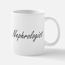 Nephrologist Artistic Job Design Mugs