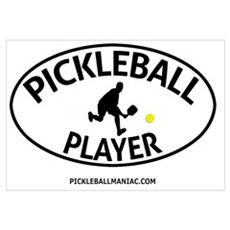 Pickleball Player #2 Canvas Art