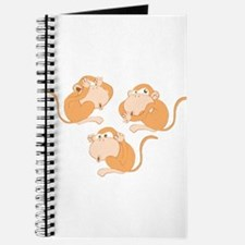 The three wise monkeys Journal
