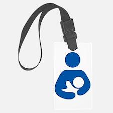 Breastfeeding Logo Luggage Tag