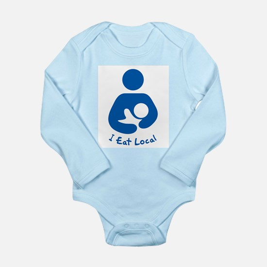 Breastfeeding - I Eat Local Body Suit