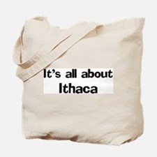 About Ithaca Tote Bag