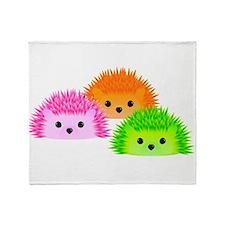Unique Hedgehog Throw Blanket