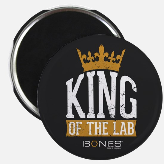 Bones King of the Lab Magnet