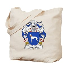 Canton Family Crest Tote Bag