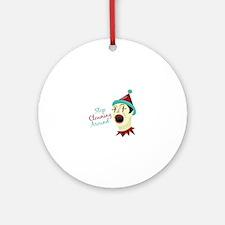 Clowning Around Round Ornament