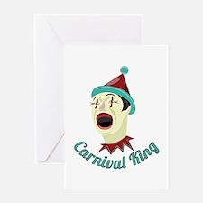 Carnival King Greeting Cards