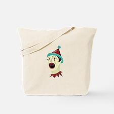 Clown Head Tote Bag