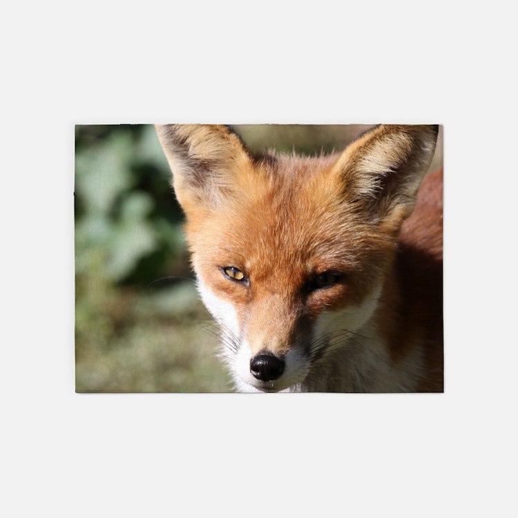 Fox001 5'x7'Area Rug