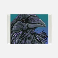Crow Raven Bird Magnets