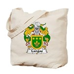 Cangas Family Crest Tote Bag