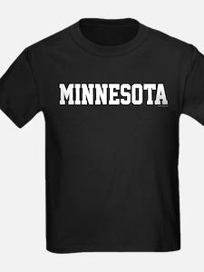 Minnesota Jersey Font White T
